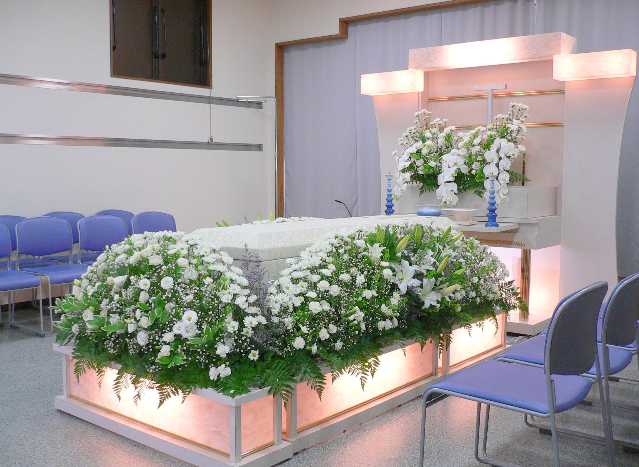 中規模葬・小規模葬プランのイメージ