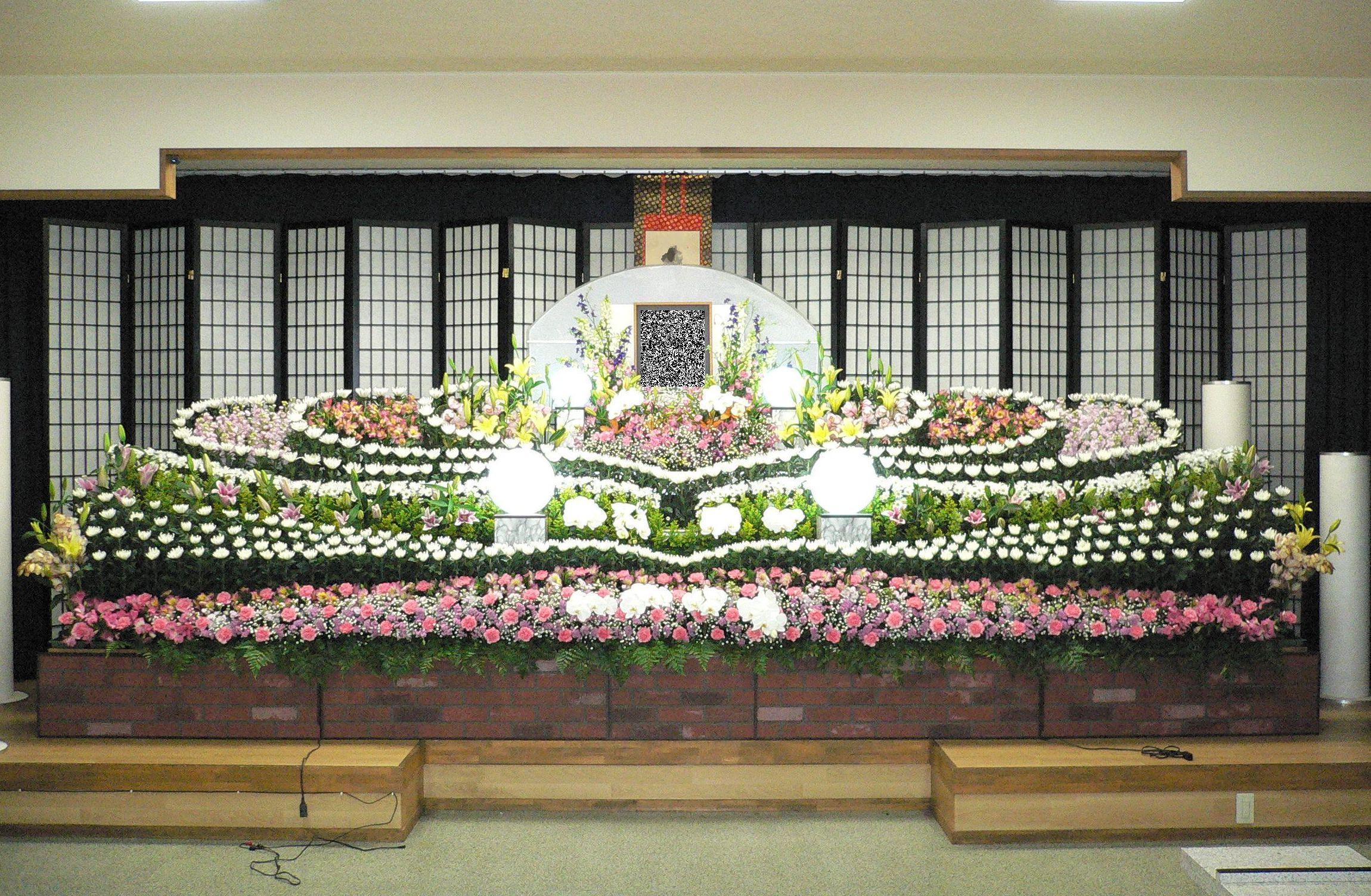 大規模葬プランのイメージ